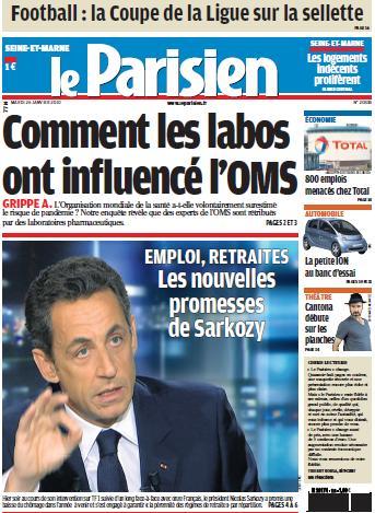 Le quotidien Le Parisien met la couleur à l'honneur
