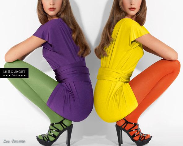 40 couleurs pour habiller vos jambes