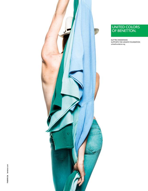 Campagne Benetton 2013 : la couleur pour changer le monde