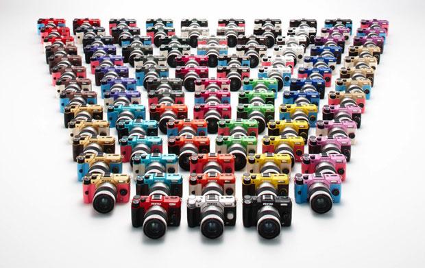 100 combinaisons de couleurs pour le nouveau Pentax