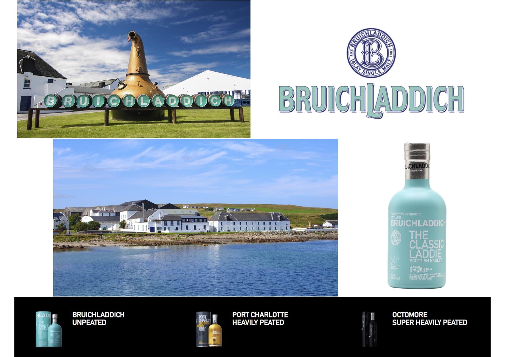 Bruichladdich : un whisky turquoise, entre mer, ciel et tourbe