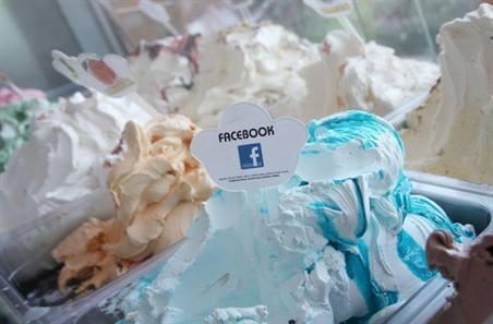 La couleur de Facebook inspire les créateurs