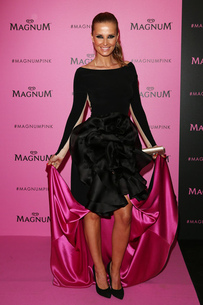 Magnum en rose et noir