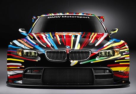 Une «Art Car» très colorée signée Jeff Koons et BMW