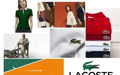 Lacoste, du blanc tennis au sportswear chic