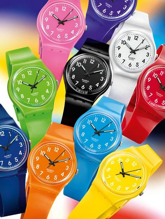 Colour Codes de Swatch en avant-première chez Colette