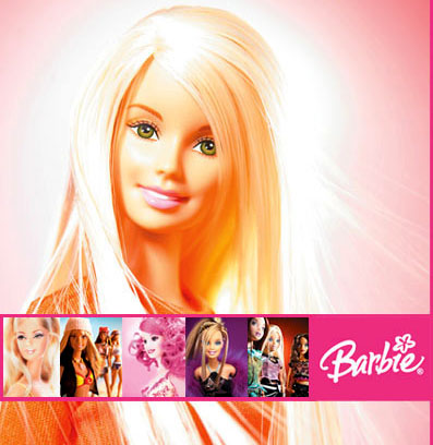 L'inconstance du rose barbie