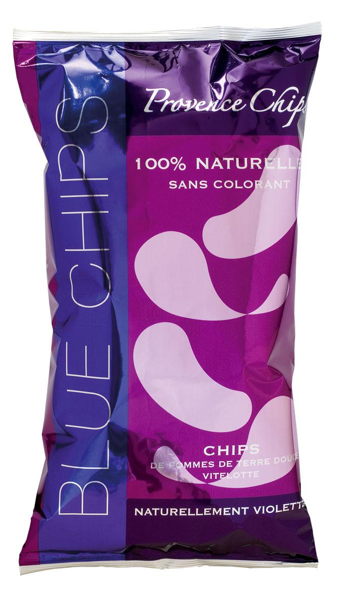 Des chips naturellement violettes