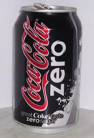 Coca-Cola Zero, plus noir que Coca-Cola Blak