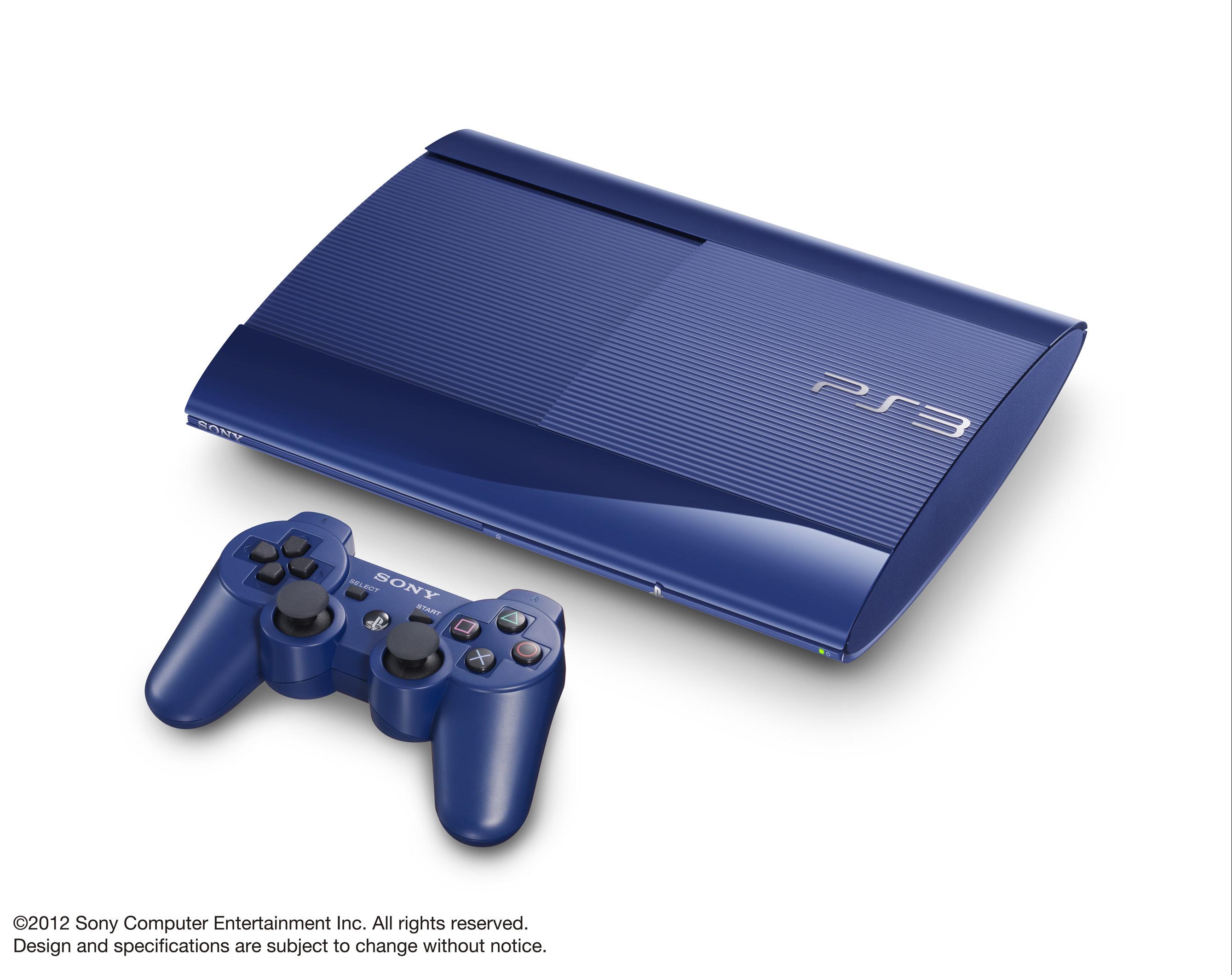 La PlayStation3 disponible bientôt en 3 couleurs